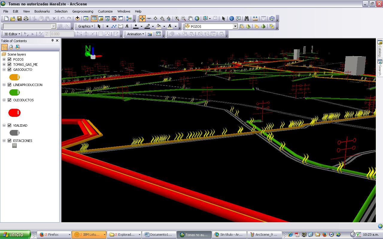 ArcScene, un análisis preliminar | Luis Fonseca